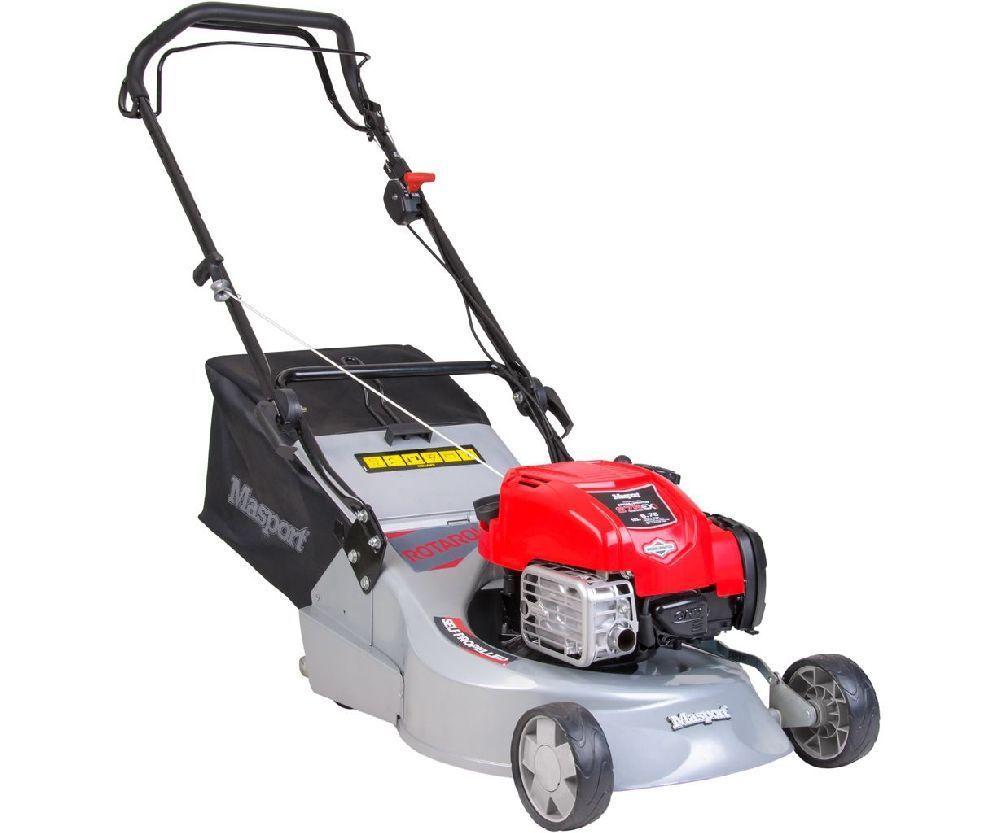 Masport Rotarola SP petrol self-propelled roller lawn mower (18_ cut)
