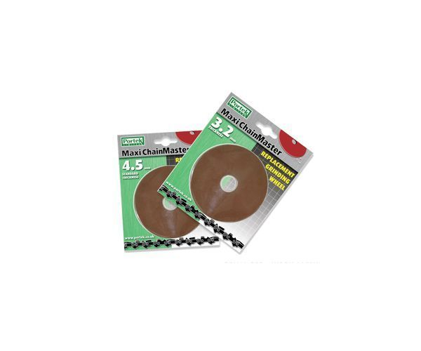Portek chain sharpener replacement grinding wheel (4.5mm)