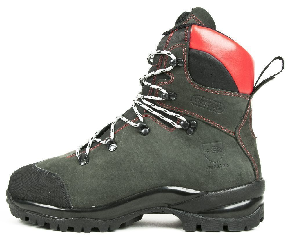 Oregon Fiordland nubuck chainsaw boots (class 2)