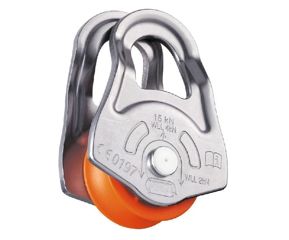 Petzl 15kN Oscillante swing cheek pulley