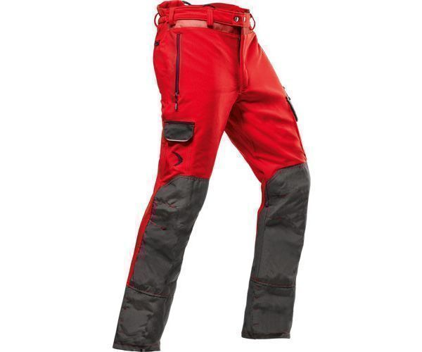 Pfanner Arborist chainsaw trousers Type C (Red)