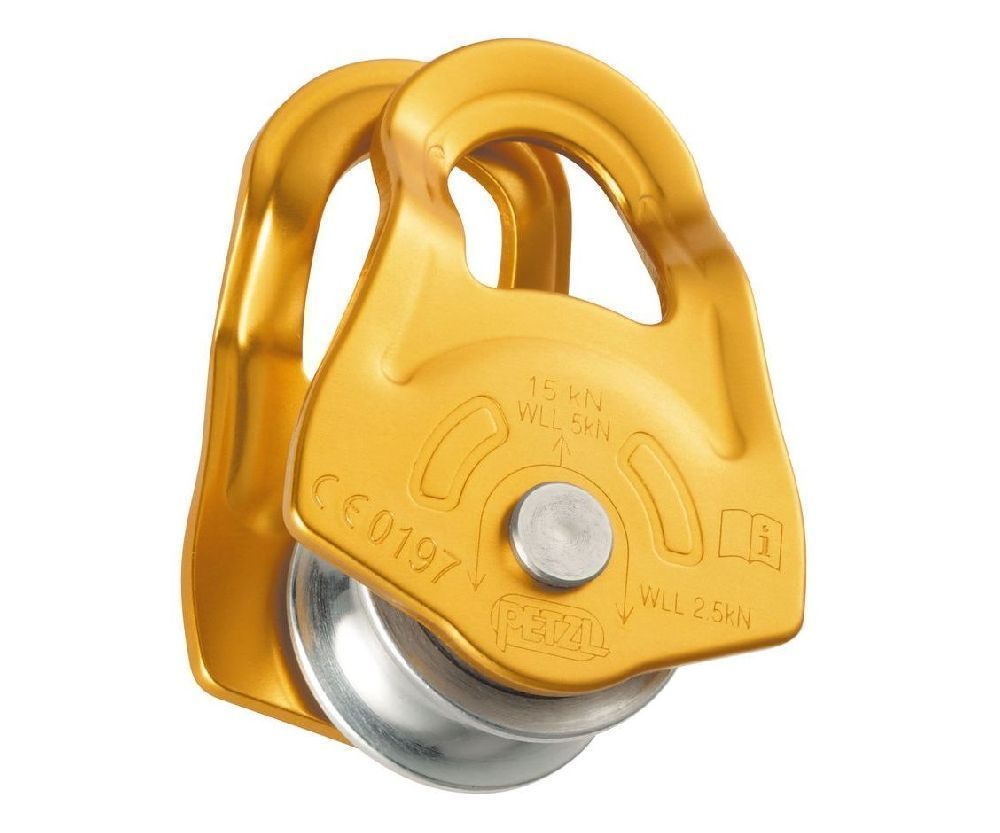 Petzl 15kN Mobile swing cheek pulley