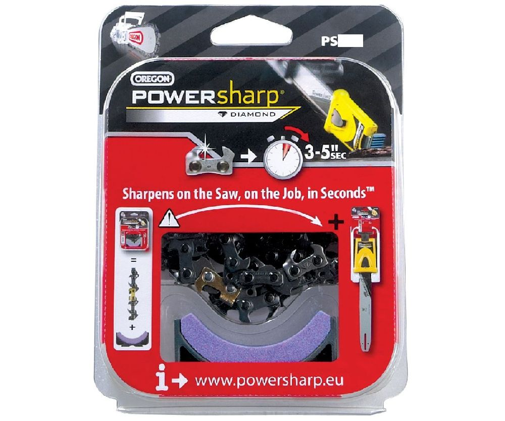 Oregon PS49E PowerSharp chain & stone
