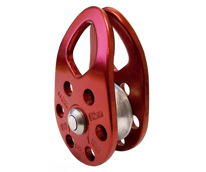 ISC 36kN swing cheek micro pulley (red)