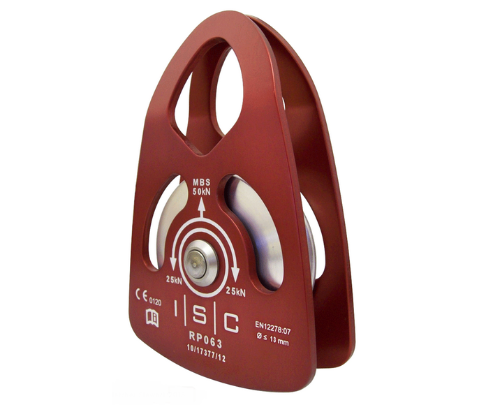 ISC 50kn swing cheek single pulley (for 13mm rope)