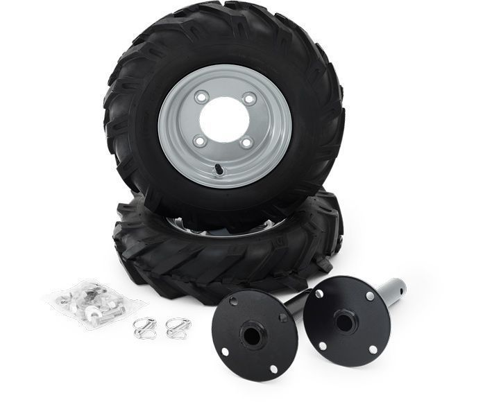 Husqvarna wheel kit for TF324/TF325