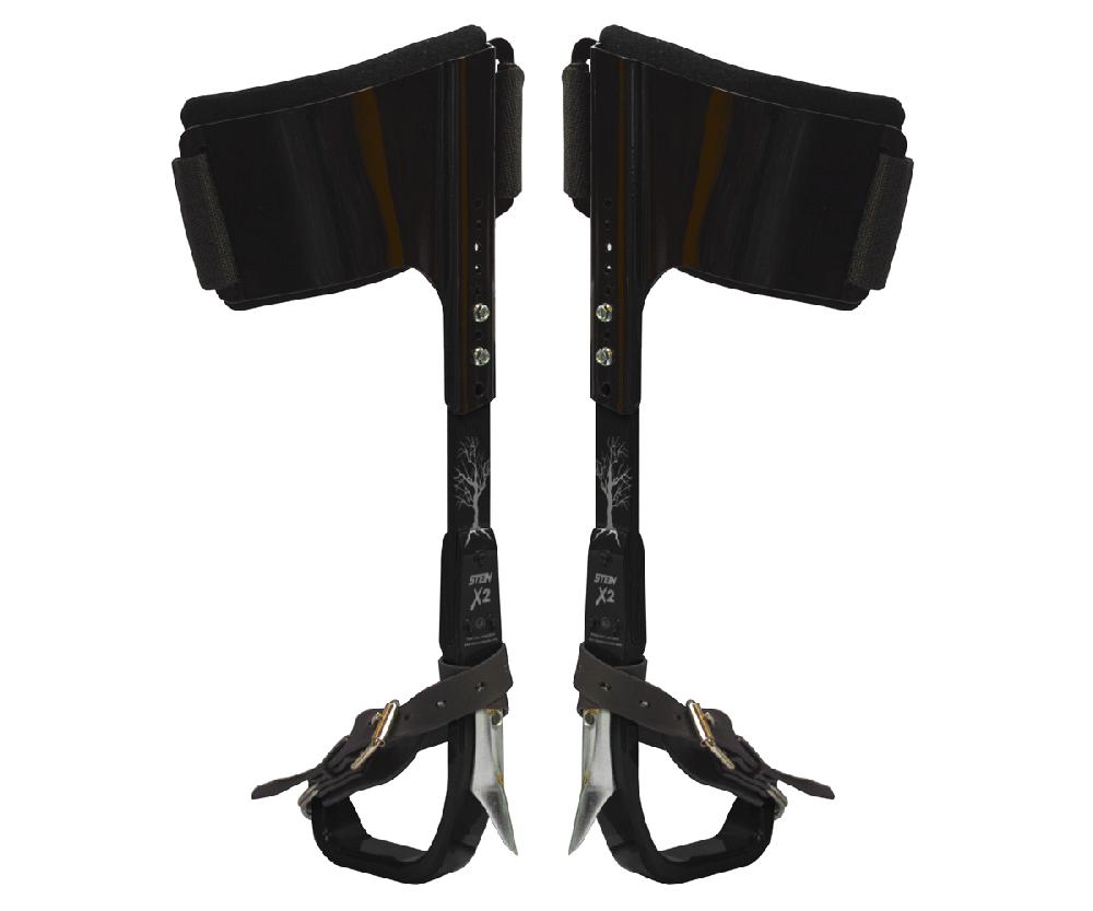 Stein X2 aluminium stealth climbing spikes (black)