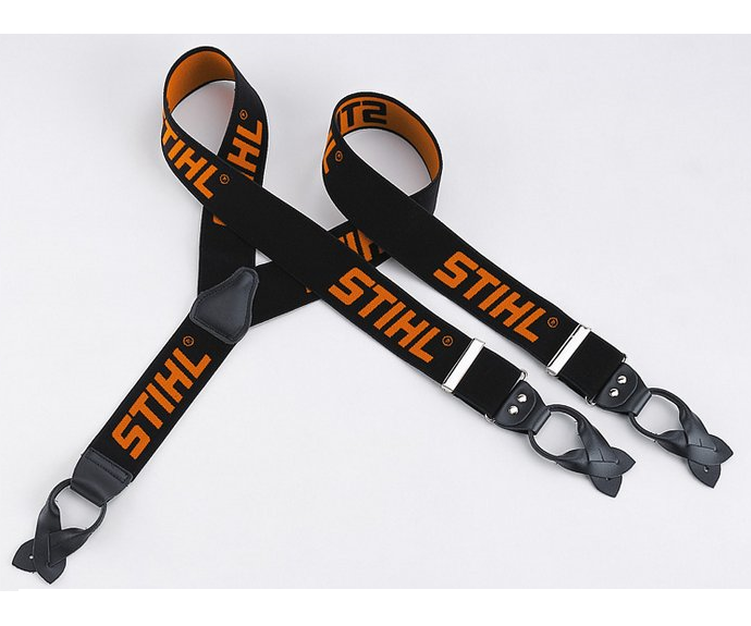 Stihl braces buttons (black)