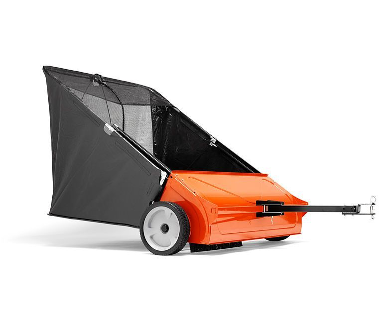 Husqvarna towed sweeper