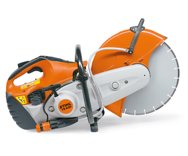 Stihl TS 420 cut off saw / disc cutter (14