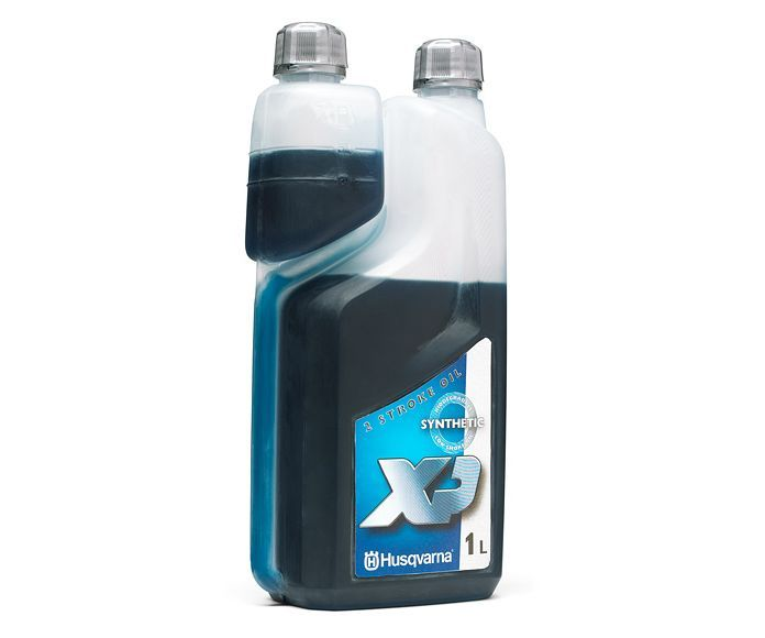 Husqvarna two stroke XP synthetic (1 litre oil measured bottle)