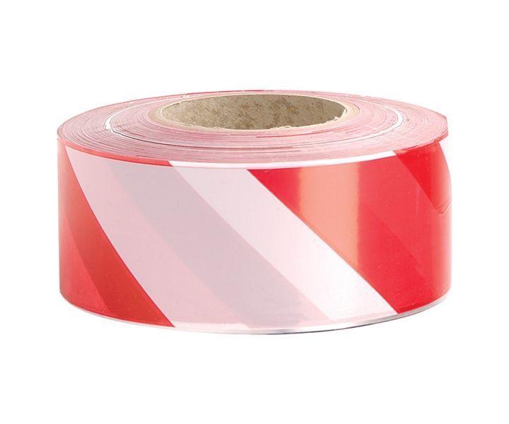 Zebra barrier tape (red/white) (500m)
