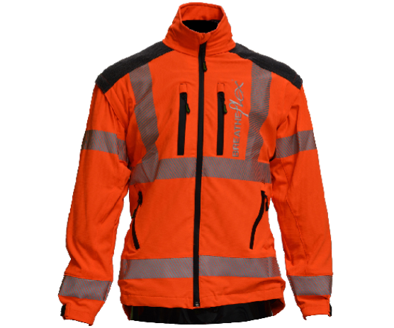 Arbortec Breatheflex performance work jacket (Hi-Viz Orange GO/RT)