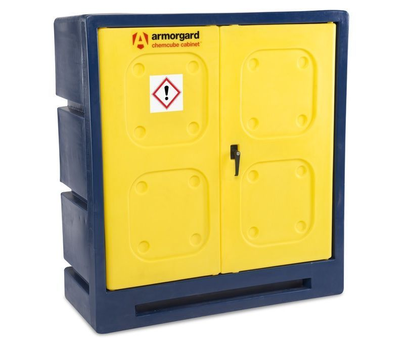 Armorgard CCC3 Chemcube chemical storage cabinet