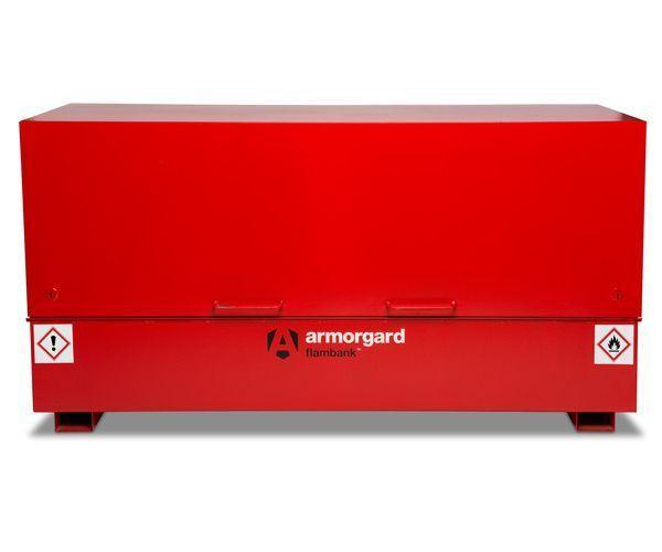 Armorgard FBC8 Flambank fire resistant site storage chest