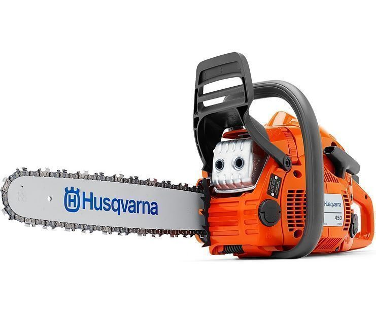 Husqvarna 450 chainsaw (50.2cc) (18 inch bar & chain)