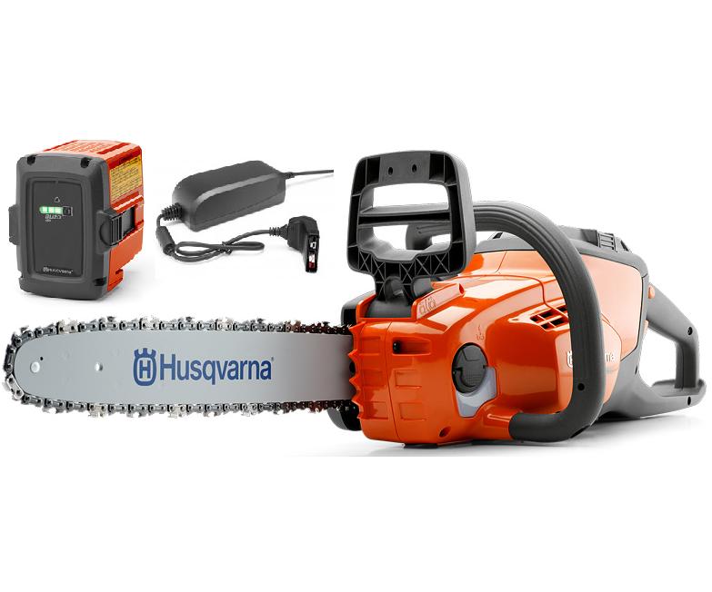 Husqvarna 120i battery chainsaw kit (12