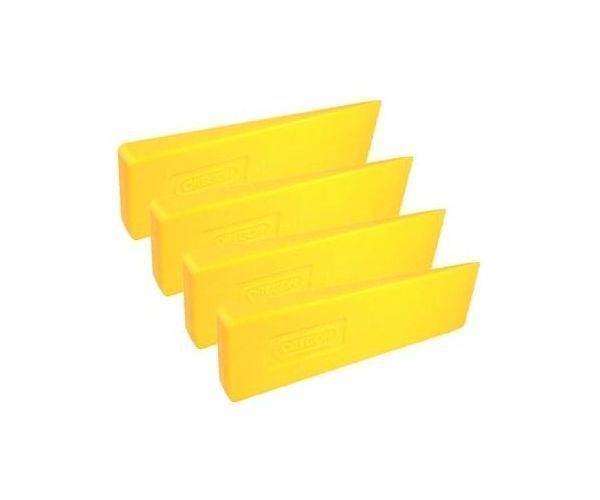 Oregon plastic felling wedge (Pack of 4)