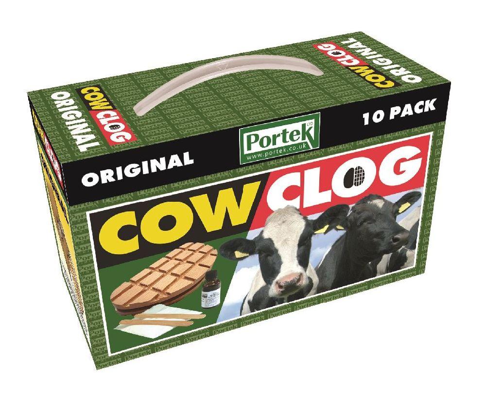 Portek cow clog original (10 pack)