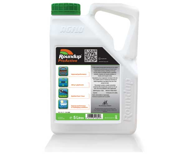 Roundup ProActive 360 weed killer (5 litre)