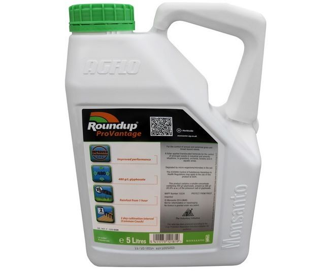 Roundup ProVantage 480 weed killer (5 litre)