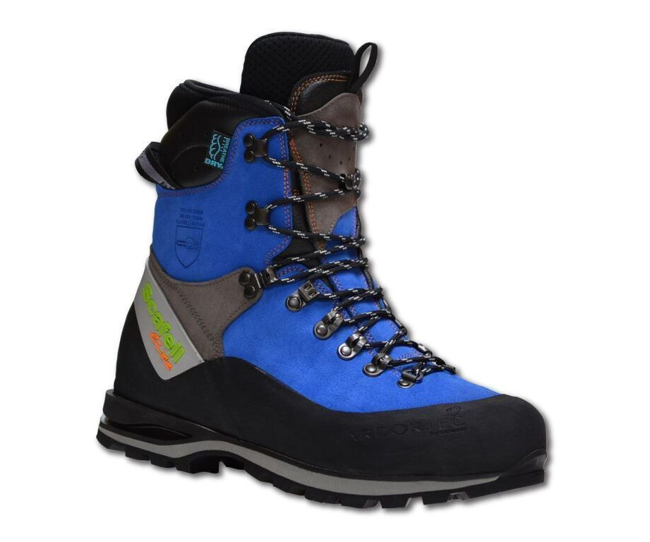 Arbortec Scafell Lite chainsaw boots (blue) (class 2)