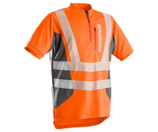Husqvarna Technical hi-viz short sleeve T-shirt