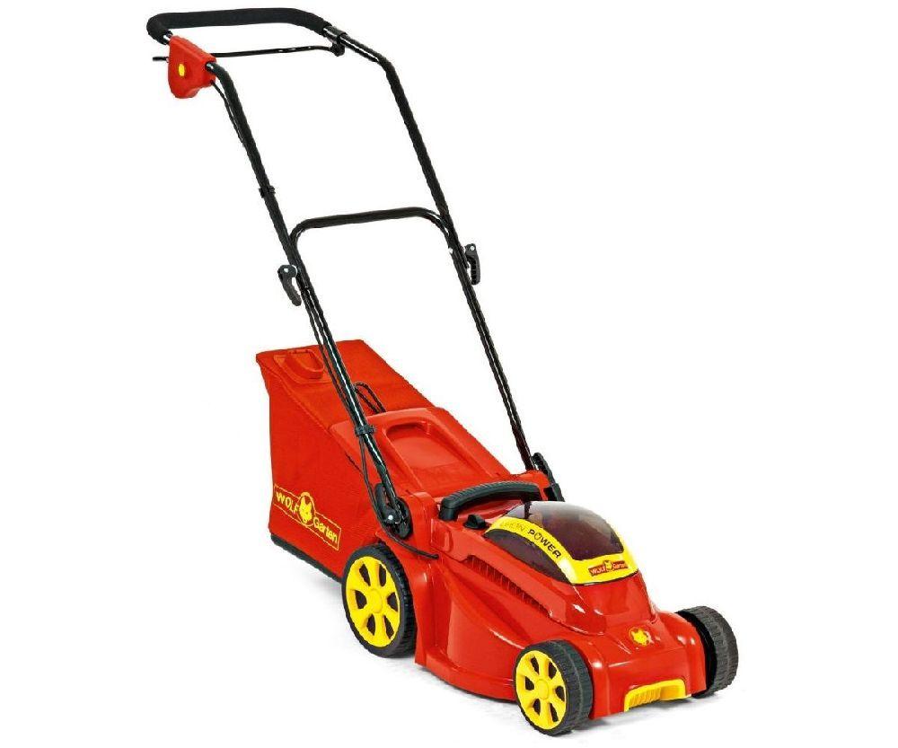 Wolf Garten 72v Li-Ion Power 40 battery push four wheeled lawn mower (40cm cut)