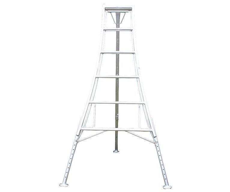 Workware lightweight aluminium Japanese tripod ladder (3 leg adjustable)