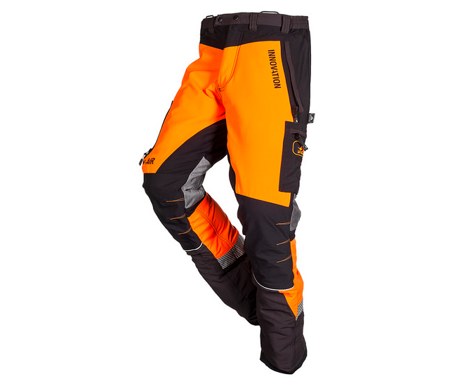 SIP Innovation Canopy W-Air chainsaw trousers Type C (Orange/Black) (Medium)