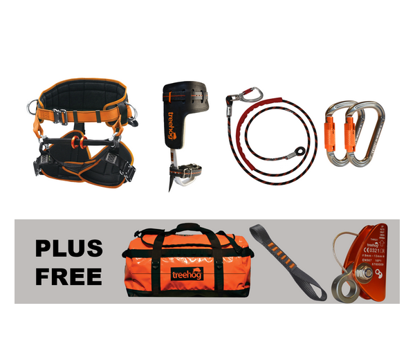 Treehog Starter climbing kit (Small harness)
