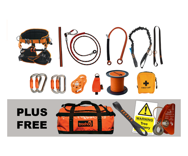 Treehog Professional climbing kit (Rope kit) (Small harness)