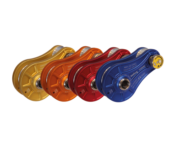 Treehog 100kN quick release rigging pulley
