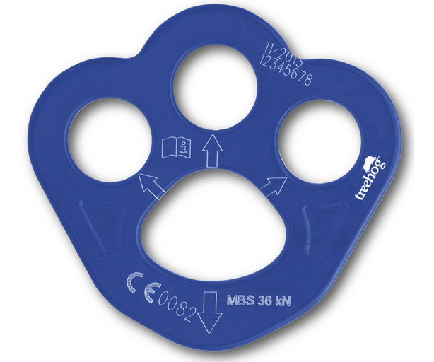Treehog small 4 hole rigging plate