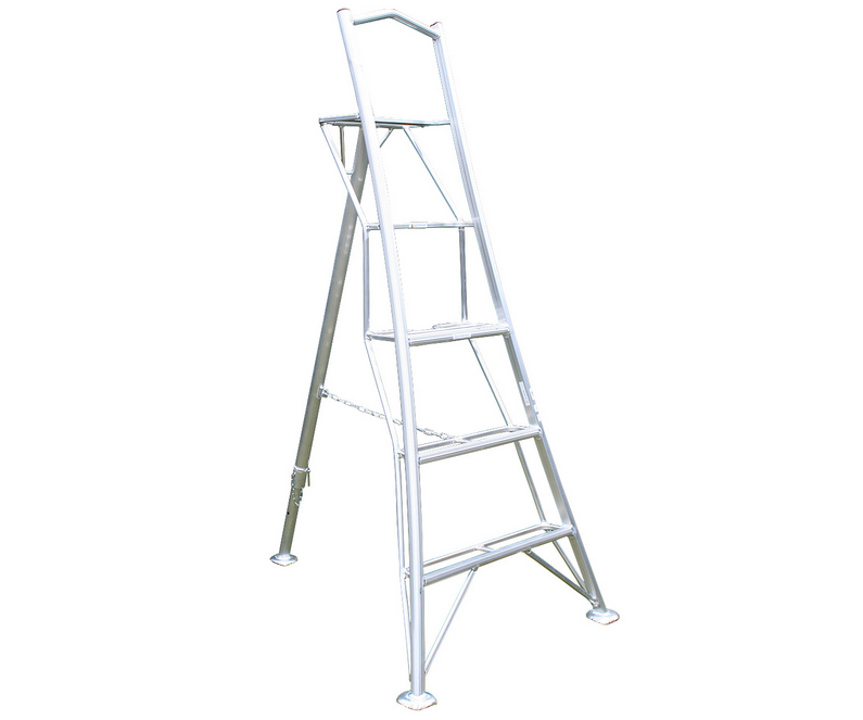 Workware lightweight aluminium platform tripod ladder
