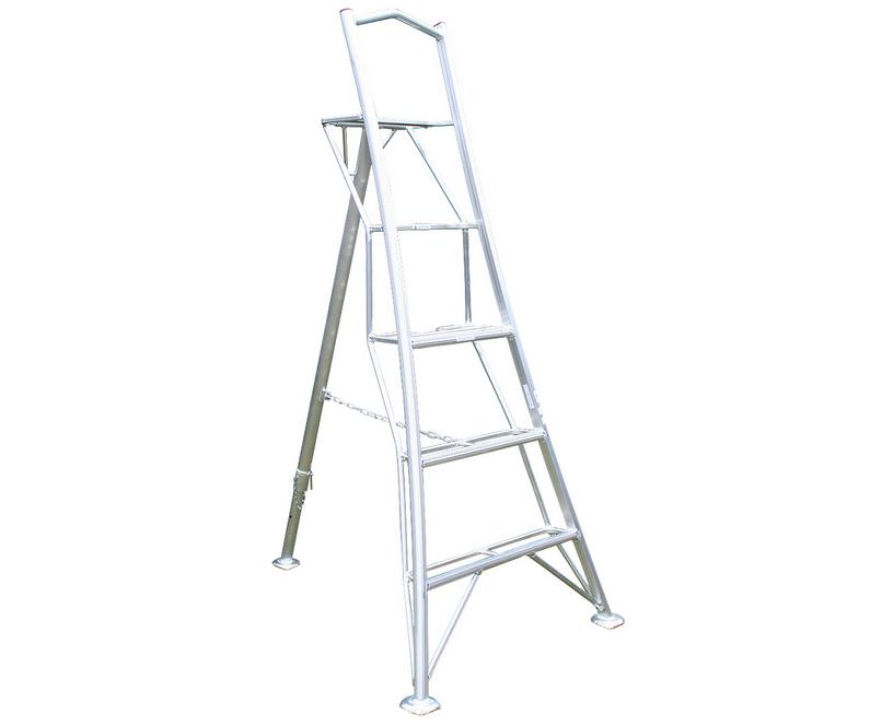 Workware lightweight aluminium platform tripod ladder (3.6m / 12ft)
