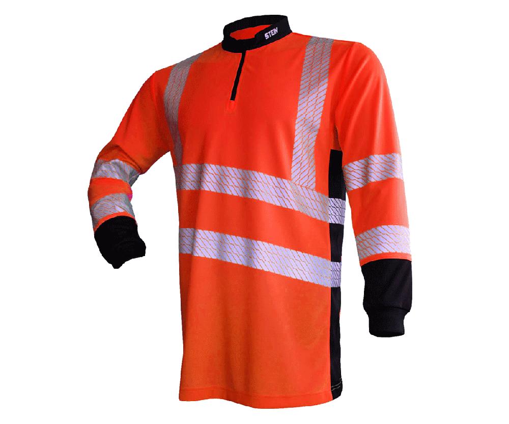 Stein X25 Ventout long-sleeve T-shirt (Hi-viz orange) (X-Large)