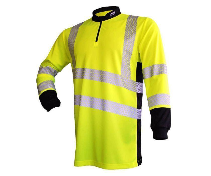 Stein X25 Ventout long-sleeve T-shirt (Hi-viz yellow) (Medium)