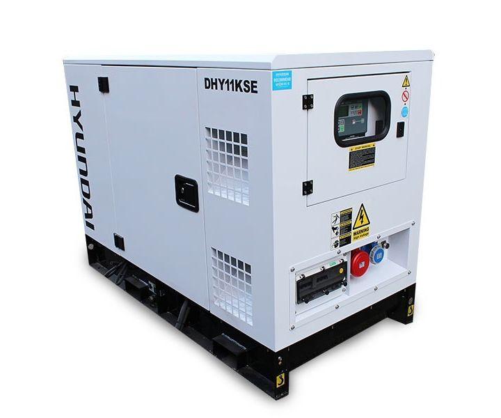 Hyundai DHY11KSE three-phase diesel generator