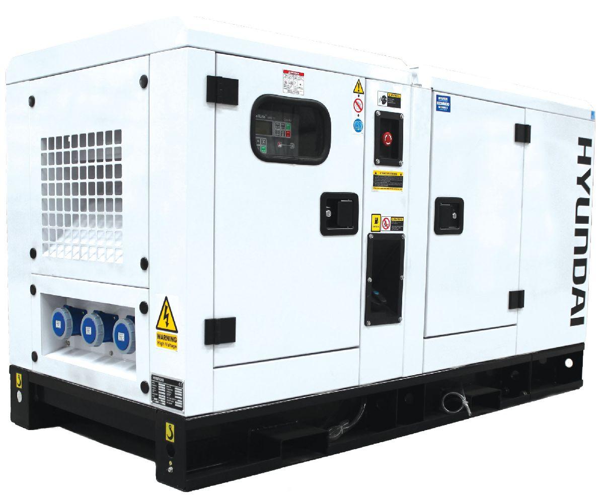 Hyundai DHY22KSE three-phase diesel generator