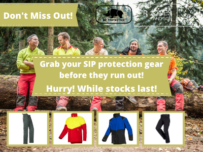 Don't Miss Out! SIP Protection Gear