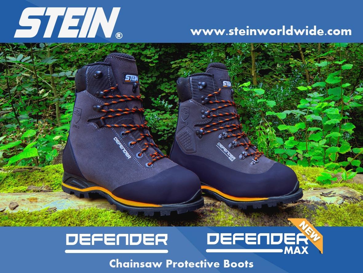 Stein Defender chainsaw boots Promo!