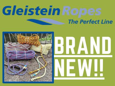 Brand New Gleistein Ropes!