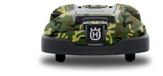 Husqvara Camo decal skin kit for Automower®