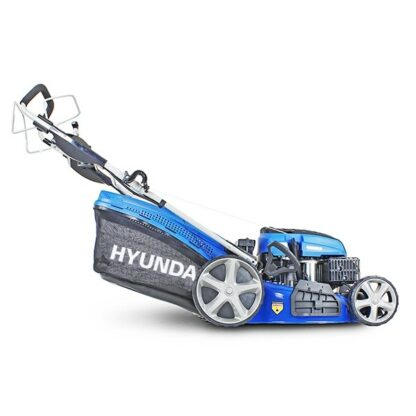 Hyundai HYM510SPE petrol self propelled four wheeled lawn mower (51cm cut)