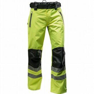 Pfanner Nanoshield rain trousers (Hi-Viz Yellow)