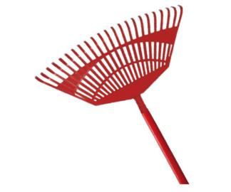 Kamikaze fan rake with wooden handle (450mm) (Individual)