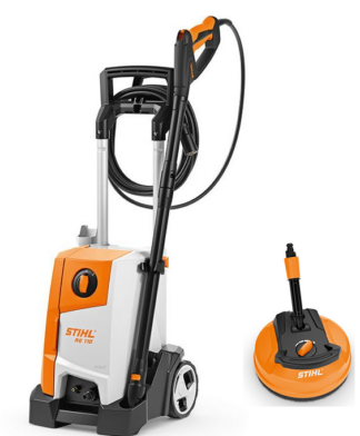 Stihl RE 110 pressure washer (comes with RA90 surface cleaner)