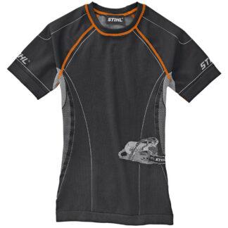 Stihl Advance short sleeve base layer top (black)