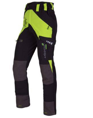 Arbortec Breatheflex non-protective work trousers (Lime)